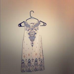 Cute open back short dress